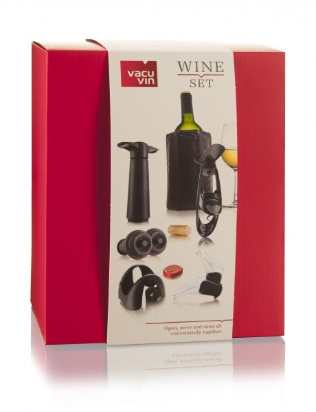 Набор для вина продвинутого уровня Wine Set Experienced Vacuvin арт. 69001606.jpg