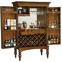 Барный шкаф Howard Miller Toscana Wine & Bar Cabinet 695-016